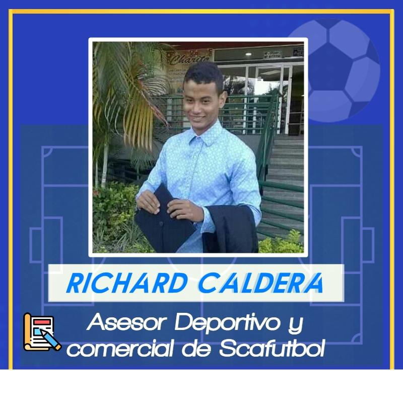 Richard Caldera. Asesor deportivo y Comercial de SCAFútbol