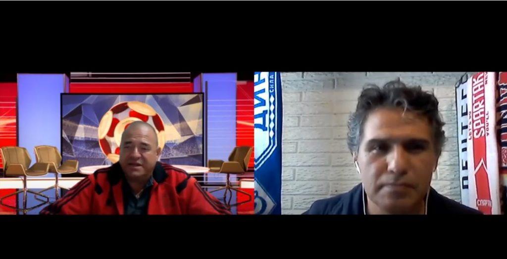 Mario Reig es entrevistado en Universal Deportes TV de México